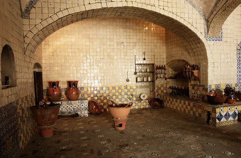 The mythical birthplace of Mole created for a visiting archbishop in Puebla
